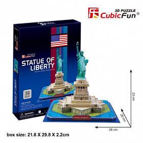 Тривимірна головоломка-конструктор cubicfun статуя свободи (C080h)