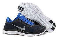 Кроссовки мужские беговые Nike Free Run 3.0 (найк фри ран) черные