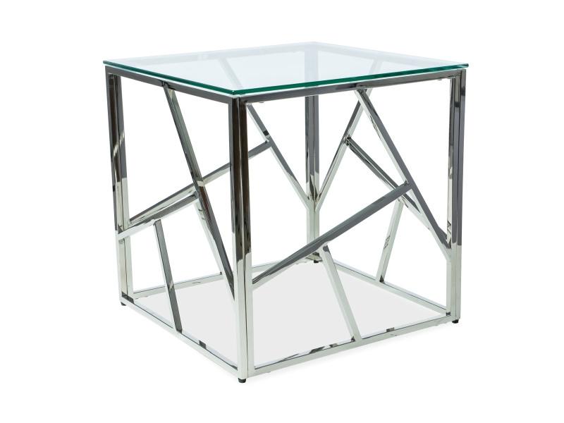 Журнальный столик Signal Escada B / Серебро