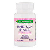 Nature's Bounty Hair  Skin & Nails (60caps), фото 3