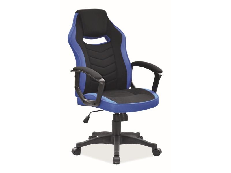 Кресло поворотное Signal Camaro / Черный / Синий