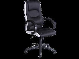 Крісло поворотне Signal Q-041 / Чорний / білий OBRQ041
