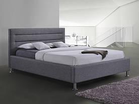 Ліжко Signal Liden / 160х200 / Сірий / Хром LIDEN160SZCH