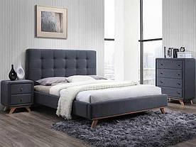 Кровать Signal Melissa / 160х200 / Серый