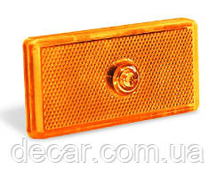 "Габарит  прямоугольный - оранжевый - 100х50х65мм - б/ламп. - ""Wassa"" - ПП-100 (1шт)"