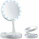 Зеркало для макияжа Foldaway mirror с подсветкой, фото 3