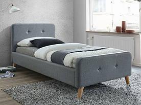 Кровать Signal Malmo / 90х200 / Серый / Дуб