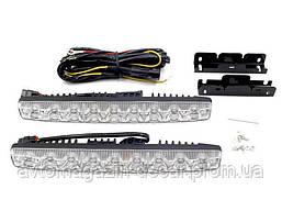 DRL 254*24*42мм/1W*9SMD+Лінза з фокусом Х-09 /метал.корпус 1058