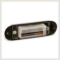 "Подсветка номера 12/24V под лампу (C5W/C10W)  Wassa  ""ФП-405"" на болтах"