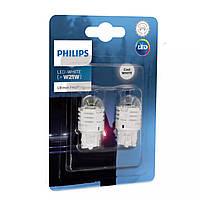 """Светодиод 12V  (бесцок.) W21 """"Philips"""" (11065U30CWB2) LED White Ultinon Pro3000 (2шт.блист.)"""