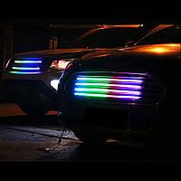 Подсветка решетки радиатора 8400RGB 4*60cm (Box)
