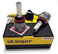"""Лампа LED H1 радиатор 3200Lm """"Starlite"""" Stinger /COB/36W/5500K/IP65/8-48v (2шт) 9мес.гарантия"""
