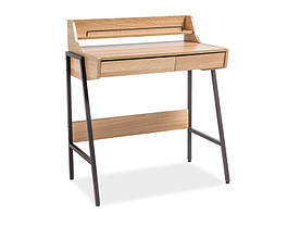 Стол письменный Signal B-168 / Дуб / темно-коричневый