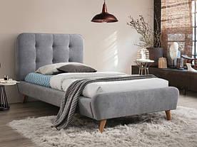 Ліжко Signal Tiffany / 90х200 / Сірий / Дуб TIFFANY90SZ
