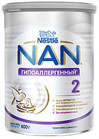 Суміш молочна Nestle NAN 2 Гипоаллергенный з 6 місяців, 400 г