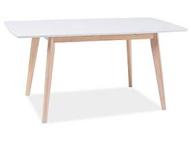 Стол обеденный Signal Combo II / Белый / дуб