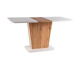 Стол обеденный Signal Calipso / Белый / Дуб вотан