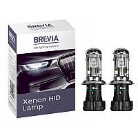 """Лампа Ксенон  H4 6000K 35W """"Brevia"""" 12460 (2шт)"""