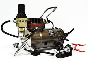 Профессиональный набор для кондитера: компрессор и аэрограф TC-803/TG130N