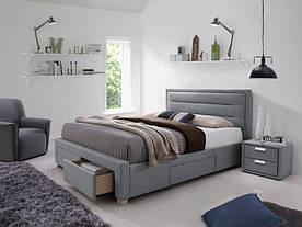 Ліжко Signal Ines / 160х200 / Сірий INES160SZ