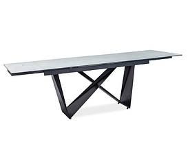 Стіл обідній Signal Cavalli II Ceramic / Білий / чорний CAVALLIBC160