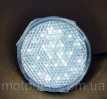 Катафот светодиодный белый  5.5см   Отражатель / габарит / стоп-сигнал