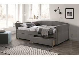 Кровать Signal Lanta / 90х200 / Серый / Черный