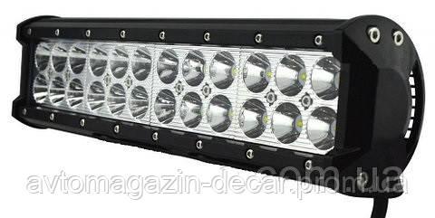 Фара-LED Балка  305*107*73mm  72W (3W*24) 10-30V  Ближний/Flood (D-72W) (1шт)   2772