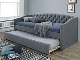 Ліжко-диван розкладний Signal Alessia / 90х200 / Сірий ALESSIA90SZD