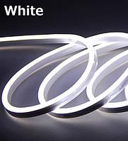 Лента - Силикон  LED Neon - 12v 25см белая гибкая (боковое свечение/шир.12мм/выс. 6мм)