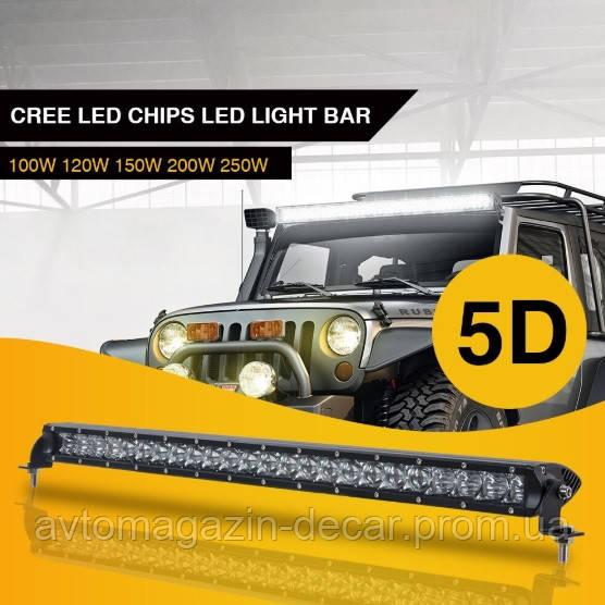 Фара-LED Балка 1045*43*80mm 200W (5W*40) 10-30V  Ближний+Дальний (LC4 5D 200W) (1шт)   3407