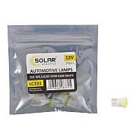 Автолампы светодиодные Solar 12V T10 W2.1x9.5d 1COB 48LM white