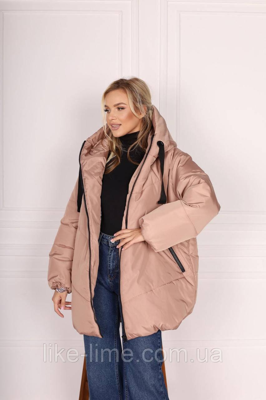 Женская зимняя куртка, куртка зимняя силикон 250
