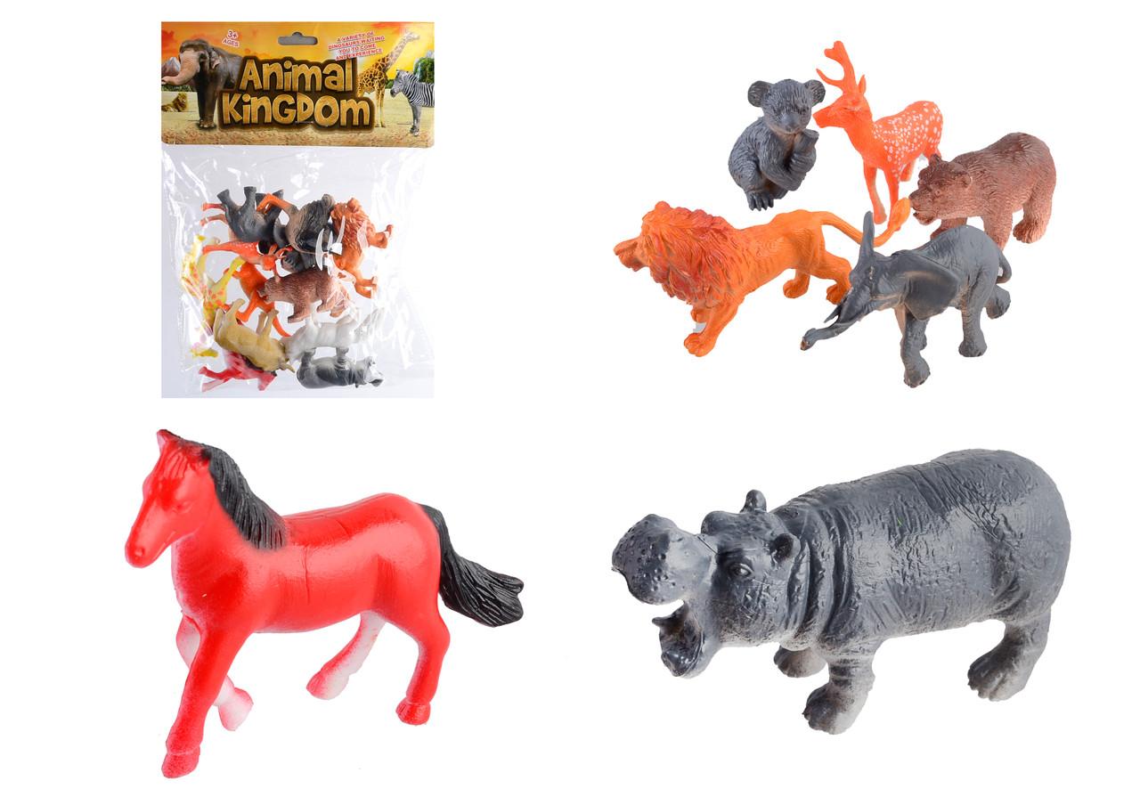 Набор диких животных 12шт, SC002