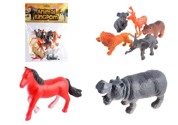 Набор диких животных 12шт, SC002, фото 2