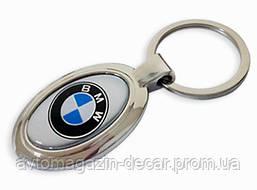 Брелок для ключей  BMW  металл/овал