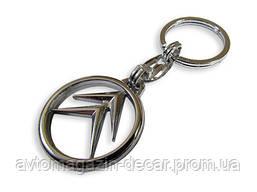Брелок для ключей  Citroen  металл/хром