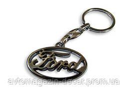 Брелок для ключей  Ford  металл/хром