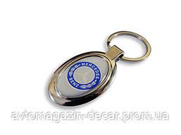 Брелок для ключей  MERS  металл/овал