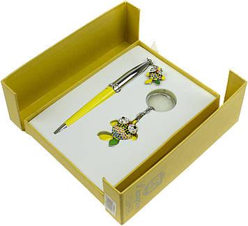 "Набір подар. ""Langres"" №122025-08 Goldfish: ручка кульк.+брелок,жовт."