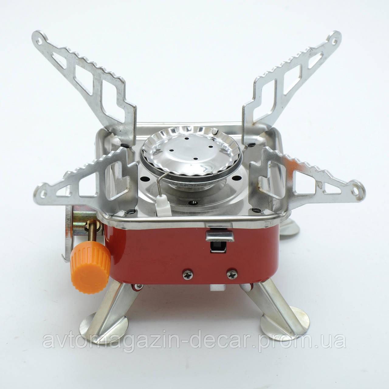 Газова плита №201 MINI (під балон) регулювання подачі газу+сумка