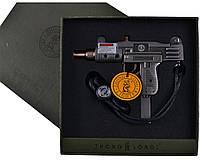 Зажигалка подарочная Автомат Узи XT-4463
