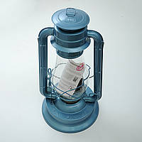 Лампа керасиновая Sunway Lanterns блакитна 35см