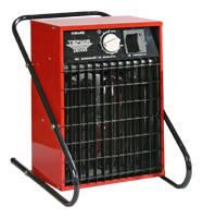Тепловентилятор прмышленный электрический АО ЭВО 12,0/0,8 Р (Е) Термия 12,0 кВт 380 В, с кабелем