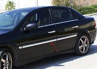 Молдинги дверные Opel Vectra C OmsaLine / Накладки на двери Опель Вектра