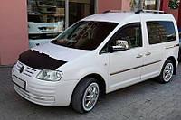 Чехол капота (кожазаменитель) Volkswagen Caddy 2004-2010 гг. / Чехлы на капот Фольксваген Кадди