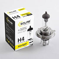 """Лампа 24V H4  75/70W +30% P43 Starlight """"Solar"""" (1шт)  (2404) (10шт/уп)"""