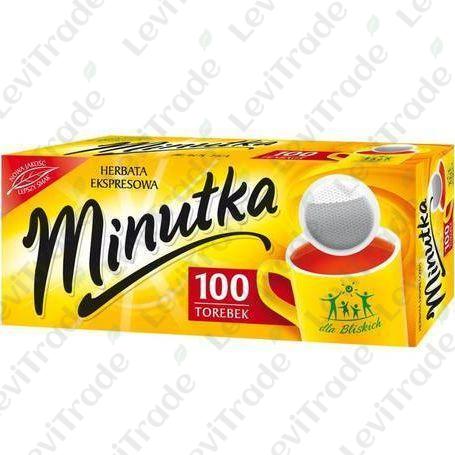 Чай чорний Minutka в пакетиках, 140г (100пак.), 5шт/ящ 3100053