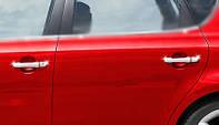 Хром для авто ручек KIA Ceed 2010 / Накладки на ручки КИА Сид