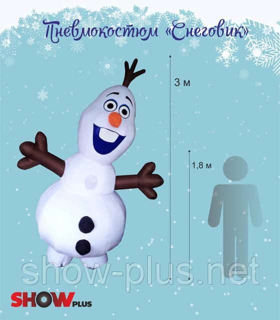 На улице всё холоднее...А у нас Снеговик!